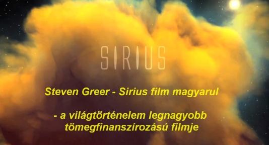 Steven Greer - Sirius mozifilm - a világtörténelem legnagyobb tömegfinanszírozású filmje