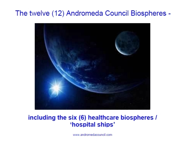 Androméda Tanács 12 bioszféra-urhajó