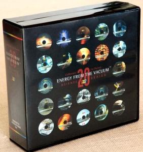 Kattintható kép a több, mint 34 DVD-hez a kvantum-vákuum energia 4-6 évtizede már titkosan használt kinyerési módszereiről