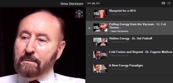Energia kinyerése a vákuumból: tinyurl.com/SiriusDisclosureTomBearden