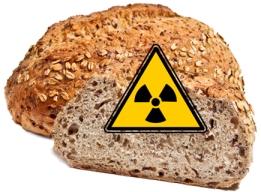 nukleáris kenyér sugárzó