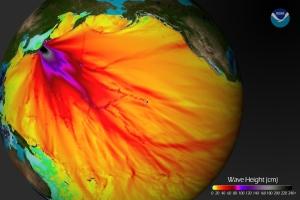 Nukleáris világtenger. Biztos Dél-Amerika alján nem megy tovább az Atlanti-Óceánba, onnan meg a Földközi-tengerbe, Biztos nem lesz belőle eső, ami az Atlanti-Óceán felől Európa keleti része felé áramlik a havas fennsíkok és a Fekete-erdő felé? (kattintásra nagyítható)