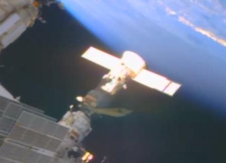 UFO az ISS-en 1