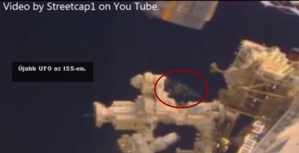 ISS újabb UFO