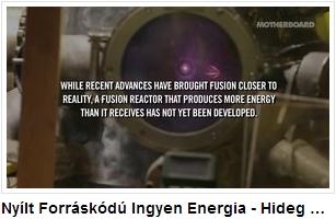 Nyílt forráskódú ingyen energia - angol nyelvű videó - az úr fóruma: coultersmithing.com/forums/index.php További ajánlott hozzá: instructables.com/id/Build-A-Fusion-Reactor
