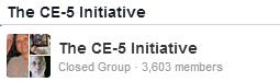 Kosta Makreas ETletsTalk.org oldala (egy ideig egyesülve volt a UFOcontact.com oldallal) és a CERPER.org csoportja és a David Wilcock közösség egyesülve (2013-ban még így is 1100 fő volt)