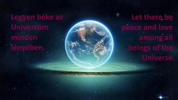 Békemeditácók Magyar-English