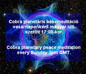Cobra planetáris békemeditáció