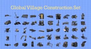 GVCS eszközök kék háttér