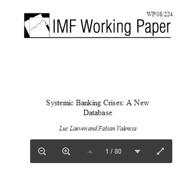 IMF banking crises