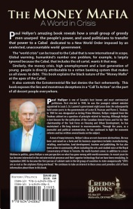 the money mafia - paul hellyer - back cover