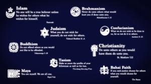 Minden fő vallás üzenete az Égiektől jött és ugyanaz