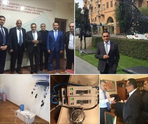 Keshe ingyen energia készülék átadva örményország kormánya részére