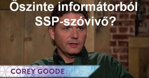 Corey Goode - Őszinte informátorból SSP-szóvivővé vált volna
