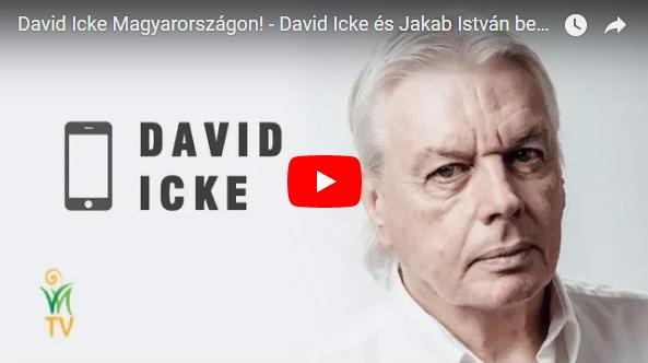 David Icke és Jakab István beszélgetése a VNTV-n