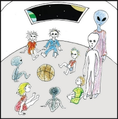 Égi tanulás az E.T. és égi hibrid barátokkal